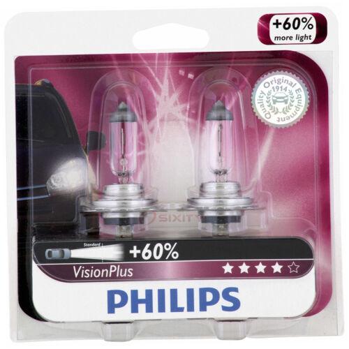 Philips Low Beam Headlight Light Bulb for Kia Spectra Sedona Optima Soul EV sd