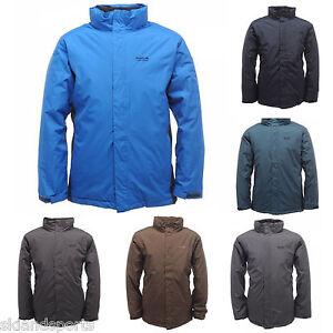 Regatta Mens Jacket Waterproof Padded Hydrafort Fleece Lined ...