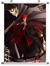 "B1859 Animation Anime Black Butler Grell Wall Scroll cosplay 10""x14"""