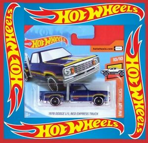 Hot-Wheels-2019-1978-Dodge-li-039-l-red-Express-Truck-55-250-neu-amp-ovp