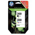 Multipack Black/Tri-Colour HP300 Ink Cartridge - CN637EE