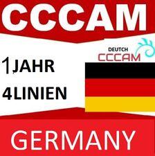 CCCAMServer 4 Linien 12 Monate ohne Schnitte||Deutschland & EU|| Top Qualität