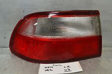 1992-1995 Honda Civic Sedan Cpe Left Driver Aftermarket tail light 13 1A2