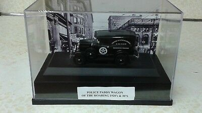 Useful The Police Paddy Wagon Of 1920's Display Case 1/32 Fine Detail Great Gift Historical Memorabilia