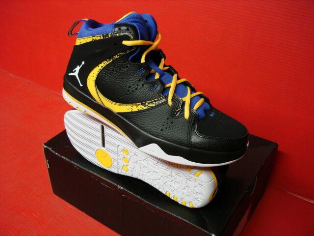 eca16594b27bdc Nike Men Jordan Phase 23 Hoop 2 Basketball Shoes - Black   White   Royal 13