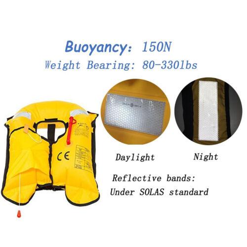 New Year Sale Boat Buoyancy Aid Sailing Kayak Fishing Life Jacket Vest Automatic