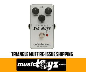 Electro-Harmonix-Triangle-Big-Muff-Re-Issue-Guitar-Pedal