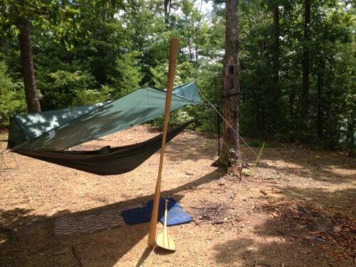Backpacking Tarp Tent Mk TT 1 Man Ultralight weight 10.4 oz Appy Trails