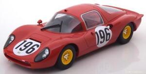 Ferrari Dino 206S #196 Guichet / Baghetti Targa Florio 1966 - 1:18 CMR