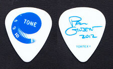 Mr. Big Paul Gilbert Signature Tone Knob White Guitar Pick - 2012 Solo Tour