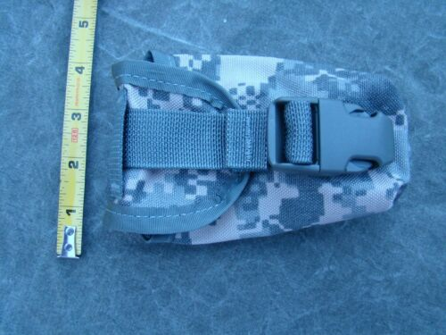 4 US Army MOLLE II Flash Bang Grenade Pouches New ACU Pattern Lot of four