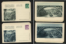 Luxembourg   2  letter  sheets   unused          KL0518