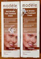 Lot Of 2 Modele Anti-wrinkle Face Treatment Cream 1.69 Oz X 2