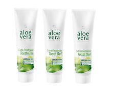 LR Aloe Vera 3x Zahncreme Extra Freshness 100 ml  ohne FLUORID  (100ml = 5,95 €)