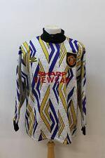 UMBRO Men's Multi-coloured Peter Schmeichel Manchester United Goalkeeper Shirt L