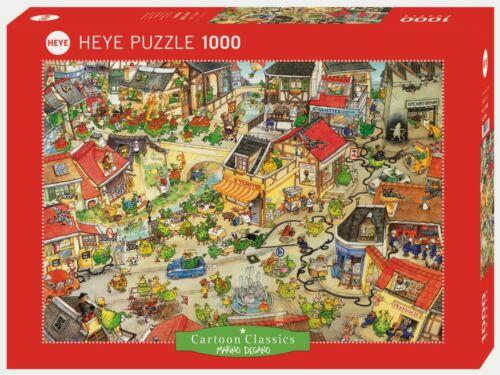 MARINO DEGANO Heye Puzzle 29406-1000 Pcs. DRAGONTOWN