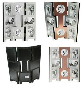 8-Picture-Copper-Silver-Folding-Photo-Picture-Frame-Multi-Collage-Aperture-Gifts