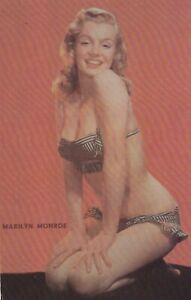 MARILYN-MONROE-hollywood-MOVIE-star-PIN-UP-CHEESECAKE-1960s-FAN-postcard