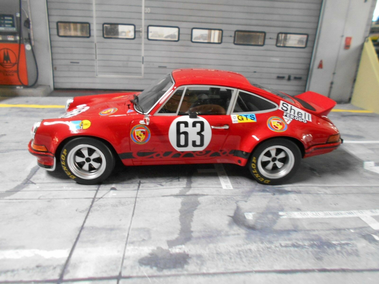 PORSCHE 911 RS 2.8 Racing Le Mans Loos Barth 1973 1 504 GT SPIRIT SP 1 18