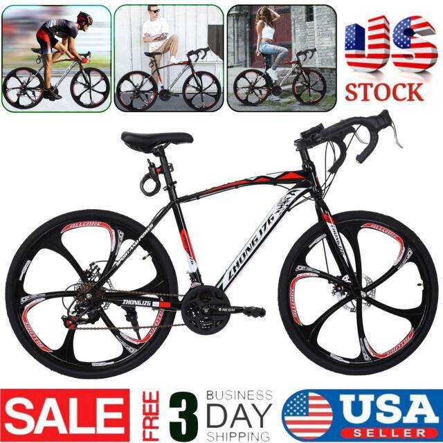 700C Road Bike Shimano 21 Speed Cycling Bicycle Disc Brakes Racing Disc Brakes
