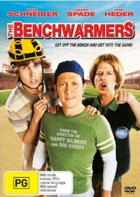 THE BENCHWARMERS - Rob Schneider - Comedy DVD # 1668