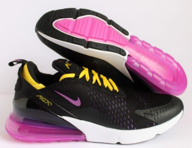 8531de8b6e Nike Air Max 270 HYPER Magenta Grape Black White Ah8050 006 US Mens ...