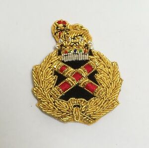 Field-Marshal-Beret-Badge-Embroidered-Marshals-British-Army-Hat-Military