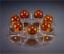Dragon Ball Z Anime Action Figure Set Esferas Del Golden Dragon+7pcs Balls+Shelf
