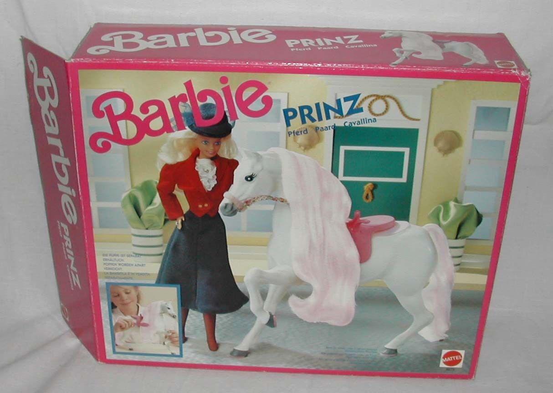 Barbie - Pferd Prinz / Prancer mit OVP