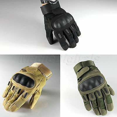 Outdoor Sports Military Tactical  Armed Hunting Motorcycle Gloves Full Finger