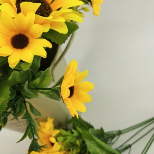 Artificial Sunflower Bouquet 1 Bunches Silk Sunflowers for Home Decoration