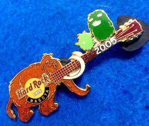 Nagoya-Mundo-Expo-Mammoth-amp-Morizo-amp-Kiccoro-Mascotas-Guitarra-Hard-Rock-Cafe