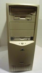 Vintage-Gateway-GP6-450-Desktop-PC-Intel-Pentium-II-450MHz-128MB-NO-HDD-Works