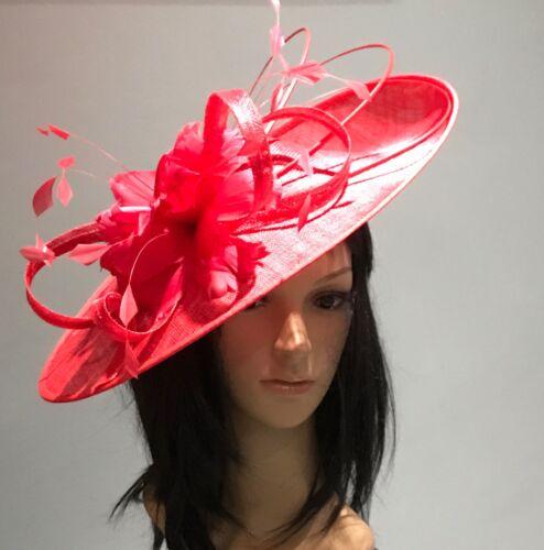 NIGEL RAYMENT METALLIC SILVER WEDDING ASCOT DISC FASCINATOR Mother The Bride Hat