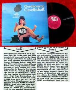 LP-Jens-Brenke-amp-Inge-Brandenburg-in-der-Herrenbar-Geschlossene-Gesellschaft