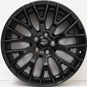 19-inch-Genuine-FORD-MUSTANG-2016-MODEL-BLACK-ALLOY-WHEELS