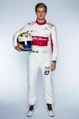F1 Alfa Romeo Sauber printed go kart racing suit,In All Sizes