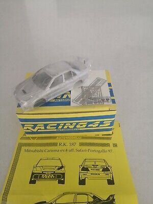 RK187 MITSUBISHI LANCER CARISMA GR.A Safari//Porto 97 Burns RACING43 1//43 rally