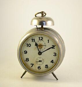 Antique 1920s Alarm clock Germany Vintage old desk table ...