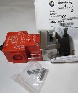 ALLEN BRADLEY 440K-T11368 GUARDMASTER SAFETY INTERLOCK SWITCH TONGUE TROJAN 5