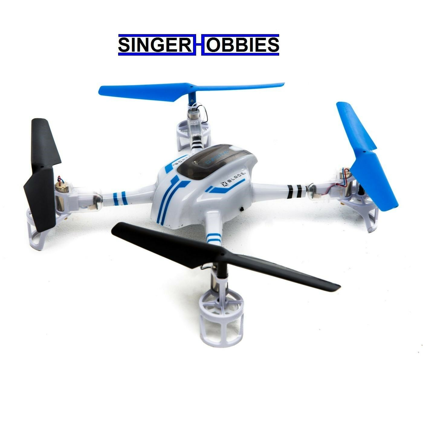 Hoja de ozono Listo Para Volar Radio Control Drone con seguro con LiPo, cargador BLH9700 Hh
