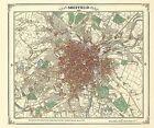 Sheffield 1849 Coloured by Heritage Cartography (Hardback, 2003)