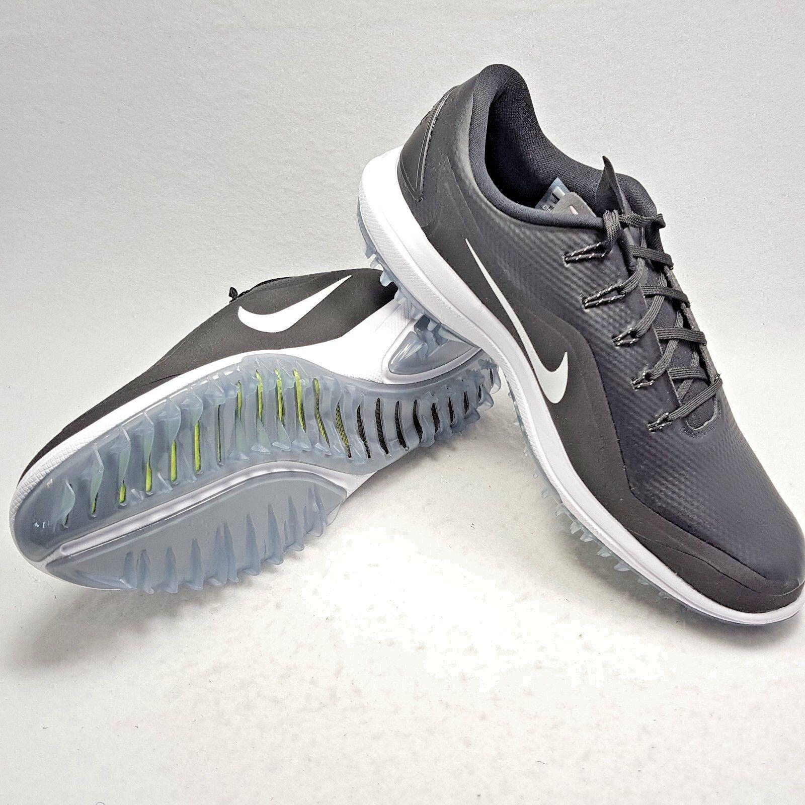 175 New Nike 2018 Lunar Control Vapor 2 Golf Shoes White Black Men's Size 13