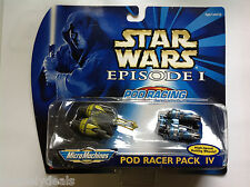 Galoob Micro Machines Star Wars Pod Racing Collection #4 2 Pack NIB!