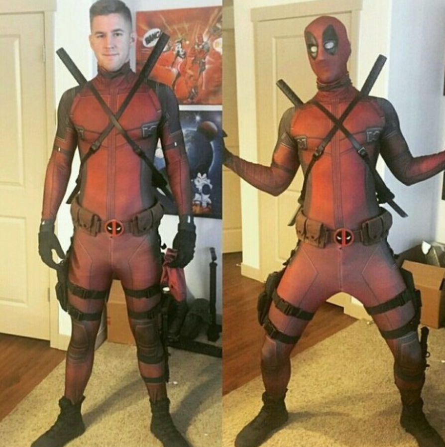 Deadpool - Adults Kids Cosplay Tights Clothing Mask Party Fancy Dress New Costume