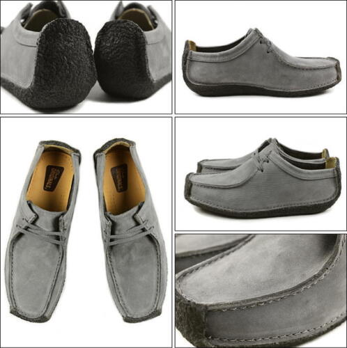Clarks Originals Womens Ut X Natalie Grey Nubuck UK 3,4,5,6 D