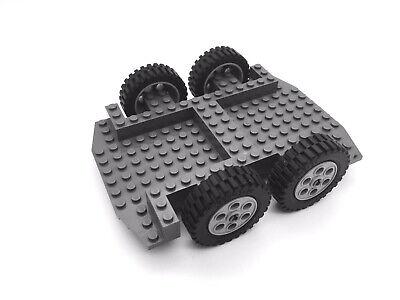 Lego ® Fahrgestell dunkelgrau Platte Chassis 30295 Fahrzeug LKW
