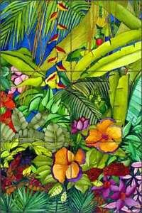 Tropical-Tile-Mural-Daniels-Floral-Art-Ceramic-Backsplash-RD005