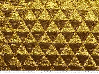 Quilted fabric, lamé, 6 colours, app. 130cm wide