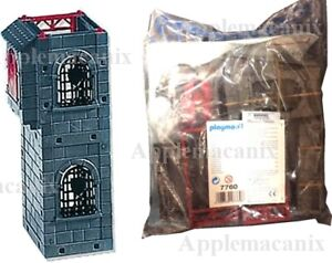NEW-SEALED-Playmobil-7760-Tower-Extension-for-Red-Dragon-Rock-Castle-3269
